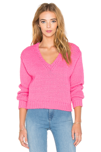 Cabo De Manga Larga Tricot Sueter Mujeres Suéter A035 Mujer pYBqwaUqx