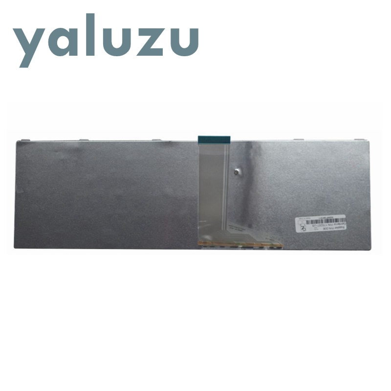 Image 2 - YALUZU NEW US keyboard For toshiba SATELLITE L850D P850 L855 L855D L870 L870D C850 C855 C855D US White laptop keyboard NSK TVBSU-in Replacement Keyboards from Computer & Office on