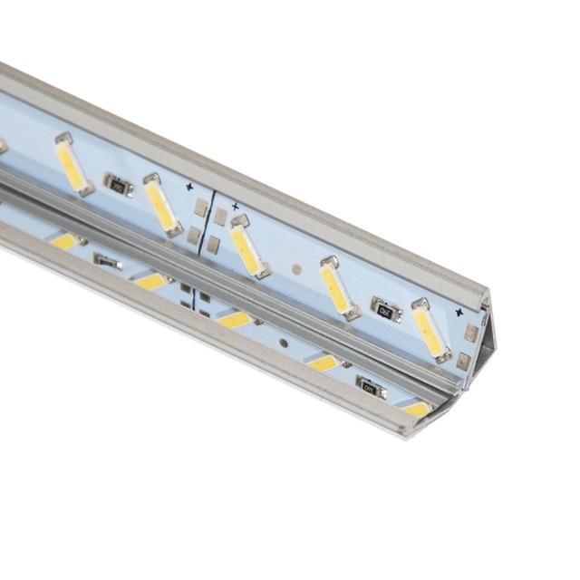 20pcs V Type Corner Led Profile Aluminium With Mirror Reflector For Bar Light