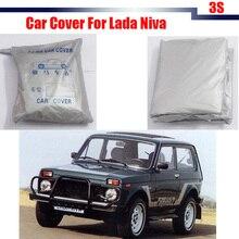 SUV Auto Abdeckung UV Anti Sonne Regen Schnee Schlagfester Abdeckung Staubdicht Für Lada Niva Freies Verschiffen!
