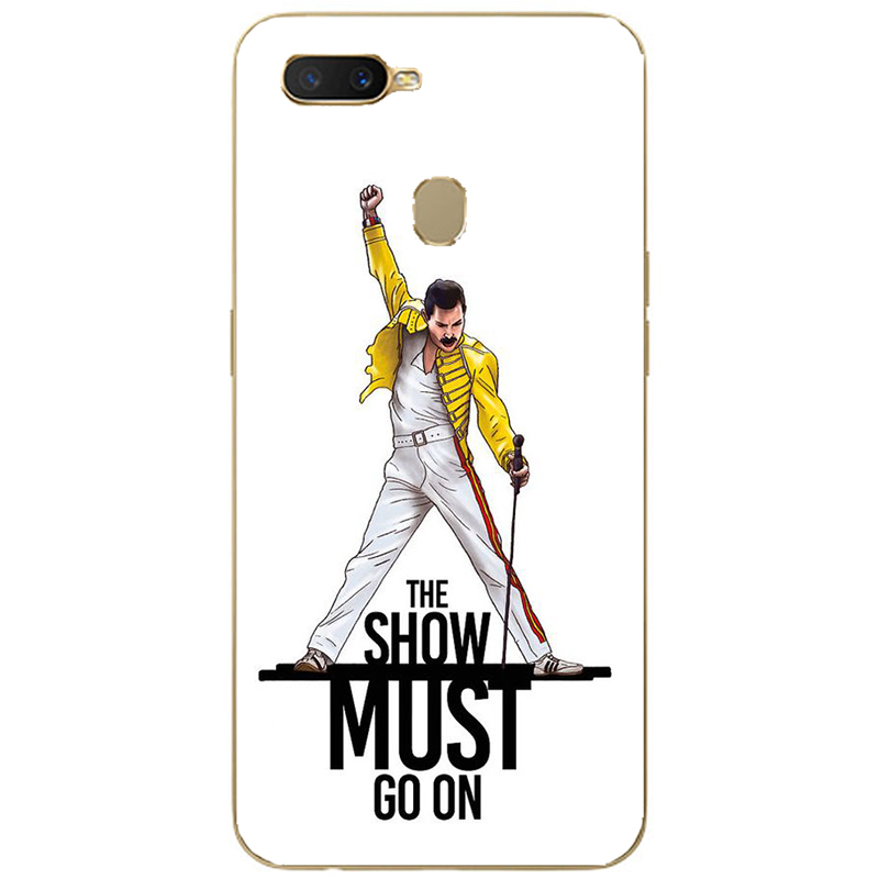 Freddie Mercury Queen band silicone Painting Case For Oppo Realme C1 C2 U1 1 2 3 Pro X Lite Mobile Phone Printed Cover