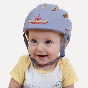 Image 2 - Casco de espuma para bebé, niño y niña, sombrero protector de alta calidad para niños, resistencia a caídas, productos de seguridad para niños pequeños