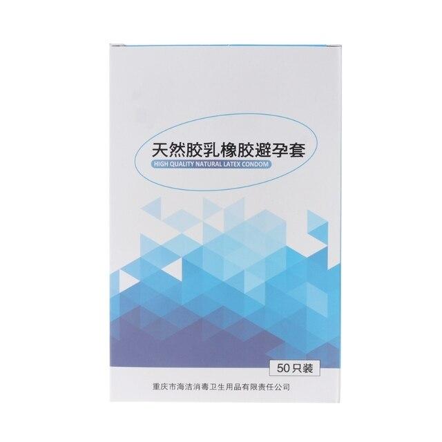 Adult Products Condoms 50/100Pcs / Lot Male Condom Queen Sex Supplies Condom