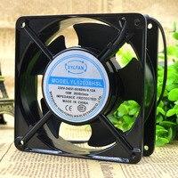YL12038HSL Computador Ventilador de Refrigeração 220 V AC 0.12A 18 W 2600 RPM 12038 12*120 120 centímetros * 38mm 2 Fios 50/60 HZ