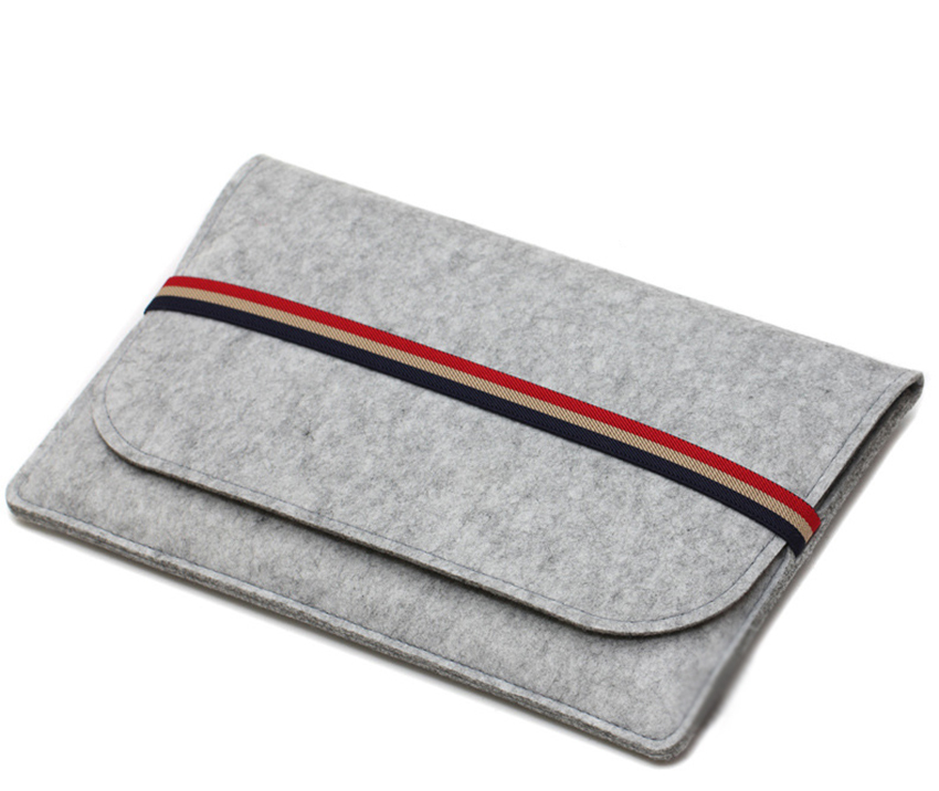 Gmilli Protective Wool Felt Ultrabook Sleeve Väska Väska Väska - Laptop-tillbehör - Foto 4