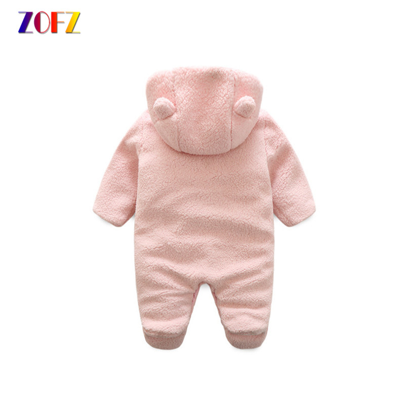 ZOFZ Newborn baby rompers for girls 2018 long sleeve jumpsuit cute baby clothes cotton comfortable clothing for new born bebes