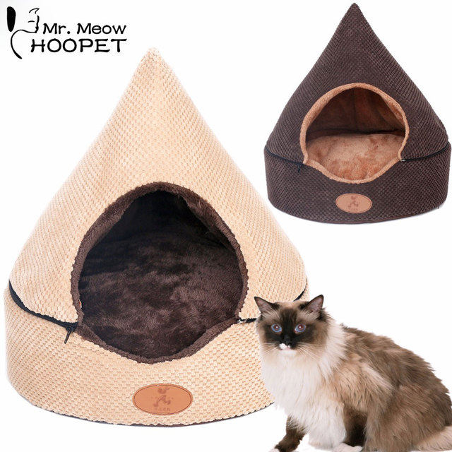 Hoopet Pet Dog Cat Tent Bed House Washable Dirt-Resistant Soft Dog Chocolate House Cat  sc 1 st  AliExpress.com & Hoopet Pet Dog Cat Tent Bed House Washable Dirt Resistant Soft Dog ...