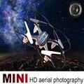 Alta Quqlity Mini RC Quadcopter 2.4 GHz 4CH 6-Axis Gyro 3D Zangão UFO Com Câmera 2.0MP HD Presente Para Crianças Grátis grátis