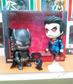 Os Vingadores 2 Dawn of Justice Batman vs Superman 2 pçs/set figura PVC brinquedo