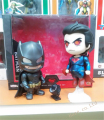 The Avengers 2 Dawn of Justice Batman vs Superman 2pcs/set figure toy PVC