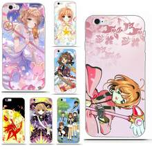 Soft Call Box For Sony Xperia Z Z1 Z2 Z3 Z4 Z5 compact Mini M2 M4 M5 T3 E3 E5 XA XA1 XZ Premium Sakura Card Captor Cardcaptor(China)