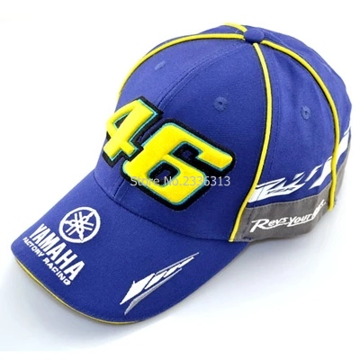 Prix pour Noir bleu F1 bouchon de course De Voiture Moto Racing MOTO GP VR 46 rossi Le médecin Broderie Casquette de baseball Chapeau