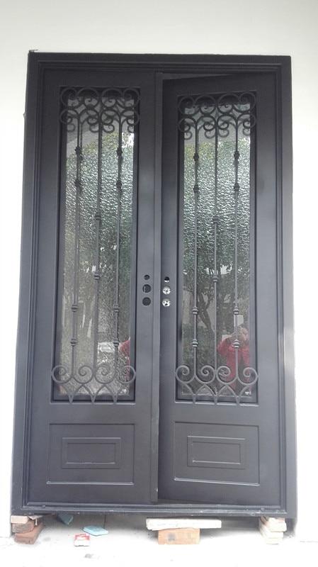 Hench 100% Steel Metal Iron Cheap Wrought Iron Front Doors