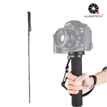 "Aluminum Monopod With Twist Lock Max Load 15KG UNC1/four"" UNC3/eight"" For Digital camera Video"