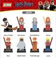 Hot película Harry Potter y la Piedra filosofal building block Dumbledore Hermione Mortífagos mini. legoeinglys. figura juguetes