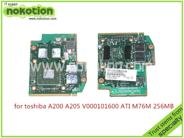 Toshiba Satellite A200 (PSAE6) ATI Graphics Drivers PC