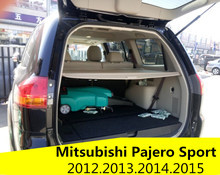 For Mitsubishi Pajero Sport 2012.2013.14.2015 Rear Trunk Security Shield Cargo Cover High Qualit Car Trunk Shade Security Cover
