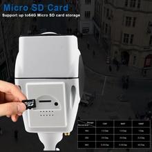 360°C Panoramic Wireless Smart Wi-Fi Camera with Night Vision