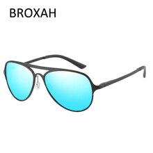 Retro Overized Goggles Men Polarized Sunglasses Aluminium Magnesium Frame Driving Glasses UV400 Lunette De Soleil Homme отсутствует журнал знание – сила 5 2009