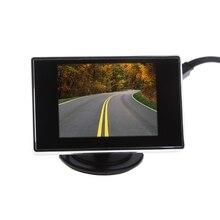"""Бесплатная доставка 3,5 """"Мини TFT ЖК дисплей цвет мониторы экран DVD VCD для заднего вида камера"""