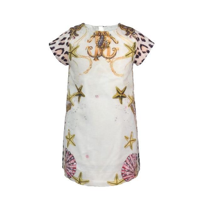 9610916443 2-7 Yrs Baby Girl Dress Princess Costume 2017 Brand Kids Summer Clothes  Girls Dresses