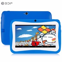 BDF New 7 Inch Kids Tablet For Children Android 4 4 1024 600 Quad Core WiFi