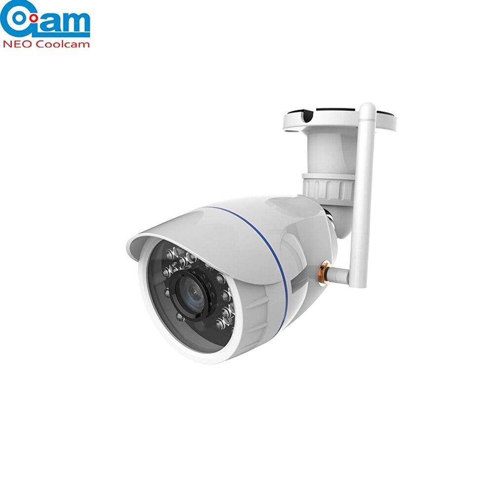 NEO COOLCAM Extérieur Étanche Wi-Fi Caméra IP Sans Fil HD 720 p Réseau Nuit Vision CCTV Caméra Travail avec Alexa Echo spectacle