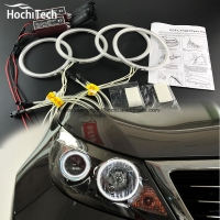 HochiTech Excellent CCFL Angel Eyes Kit Ultra Bright Headlight Illumination For Kia Sportage 2011 2012 2013