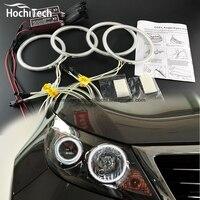 HochiTech Excellent CCFL Angel Eyes Kit Ultra Bright Headlight Illumination For Kia Sportage 2011 2012 2013