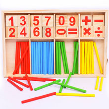 Kid's Educational Bamboo Toys