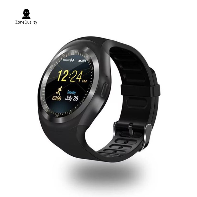 ZoneQuality Y1 Bluetooth Smart Watch Android Smart Watch Phone Call GSM Sim Remote Camera Information Display Sports Pedometer умные часы smart watch y1