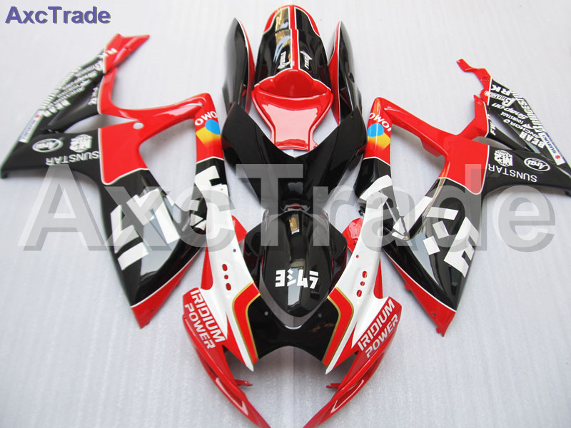 Bodywork Moto Fairings FIT For Suzuki GSXR GSX-R 600 750 GSXR600 GSXR750 2006 2007 K6 06 07 Fairing kit Custom Made High Quality new motorcycle ram air intake tube duct for suzuki gsxr600 gsxr750 2006 2007 k6 abs plastic black