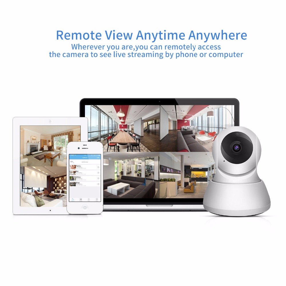SDETER Home Security IP Camera Wi Fi 1080P 720P Wireless Network Camera CCTV Camera Surveillance P2P SDETER Home Security IP Camera Wi-Fi 1080P 720P Wireless Network Camera CCTV Camera Surveillance P2P Night Vision Baby Monitor