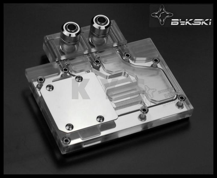 Bykski N-G9&6 for Reference Edition GTX970 GTX760 670 660TI K5000 VGA Water Cooling Block with Backplate gtx 970 в тольятти