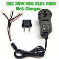 7.4 В ли - po зарядное устройство + кабель для зарядки для MJX X101 X600 X6 RC Quadcopter беспилотный запчасти бесплатная доставка