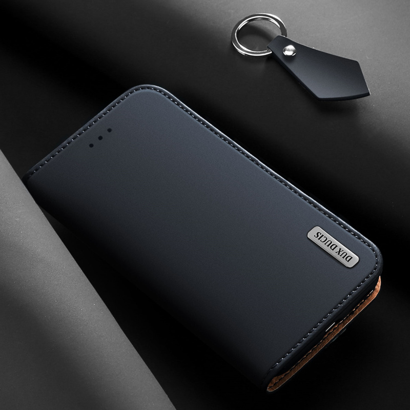 brand new 050eb 5a9a1 Fashion Genuine Leather Case For Samsung Galaxy Note 9 Original DUX DUCIS  Vintage Wallet Flip Cover For Samsung Note9 Phone Case