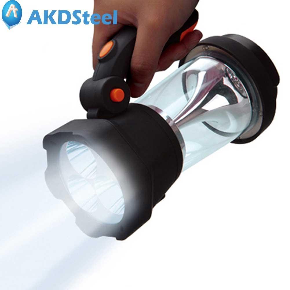 AKDSteel Outdoor Portable Flashlight Energy Saving Environment-Friendly Hand Power Generation Camping Lamp Hiking Fishing an incremental graft parsing based program development environment