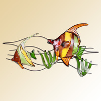 Tieyi muons modern fashion wall hanging wall decoration tropical fish home decoration walls