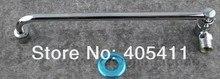 Бесплатная Доставка! В настенных полуавтоматический вращение отель кухонный кран (сплав) размер: 250 мм