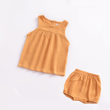 Summer top 2018  kids clothes 0-4 years 5 colors cotton sleeveless kid t shirts baby girls clothes summer tshirt