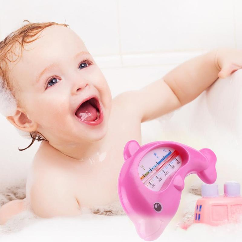 Water Thermometer Baby Bathing Dolphin Shape Temperature Infants Toddler Shower  Plastic Tub Water Sensor ThermometerWater Thermometer Baby Bathing Dolphin Shape Temperature Infants Toddler Shower  Plastic Tub Water Sensor Thermometer