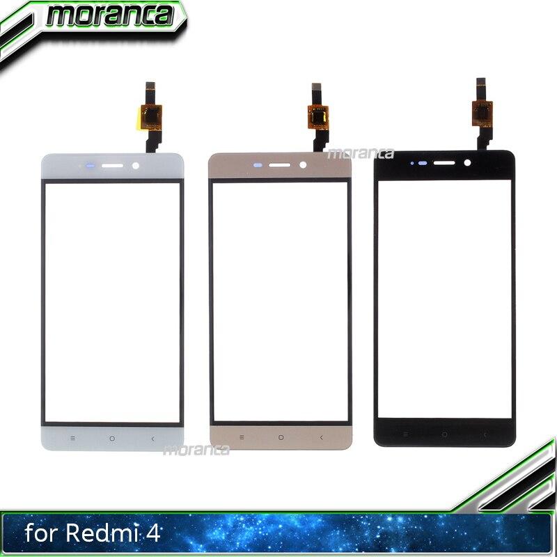 5.0 Touchscreen for Xiaomi Redmi 4 Redmi4 Touch Screen Digitizer Front Glass Panel Sensor Front Lens Black White Gold5.0 Touchscreen for Xiaomi Redmi 4 Redmi4 Touch Screen Digitizer Front Glass Panel Sensor Front Lens Black White Gold