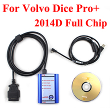 2014D Super Vida Dice Diagnostic Tool For Volvo Dice Pro Dice Vida With Multi-Language by DHL Shipping