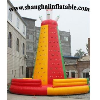 Nowy projekt nadmuchiwane wspinaczka górska dla chridren tanie i dobre opinie XZ-CW-010 Dziecko inflatable climbing as customer request 0 5mmPVC L8*W8*H8m 110-220v Large Outdoor Inflatable Recreation