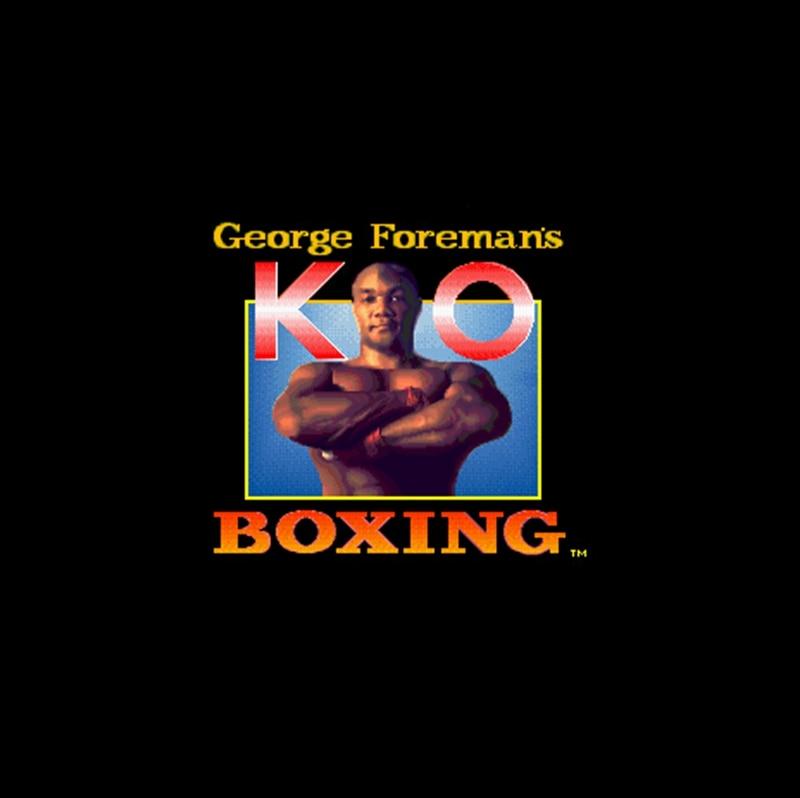 ①  Джордж Форман KO Boxing 16 бит Big Grey Game Card США NTSC Game Player ✔