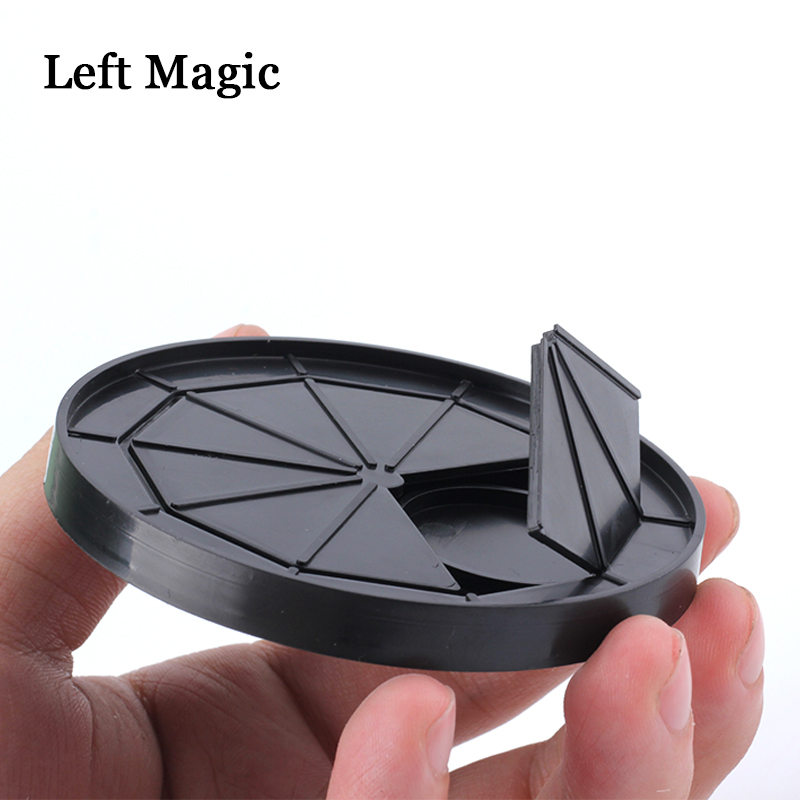 Coin Coaster Magic Tricks Coin Into Cup Money Magic Props Close Up Magic Accessories Stage Fun Illusions