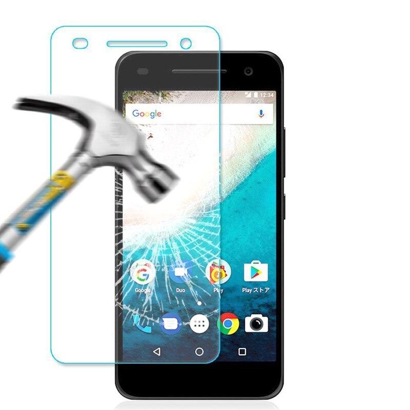 100x 2.5D Vidro Temperado Protetor de Tela Para SHARP Ymobile android one S1 protetor de tela de vidro filme capa atacado + pacote