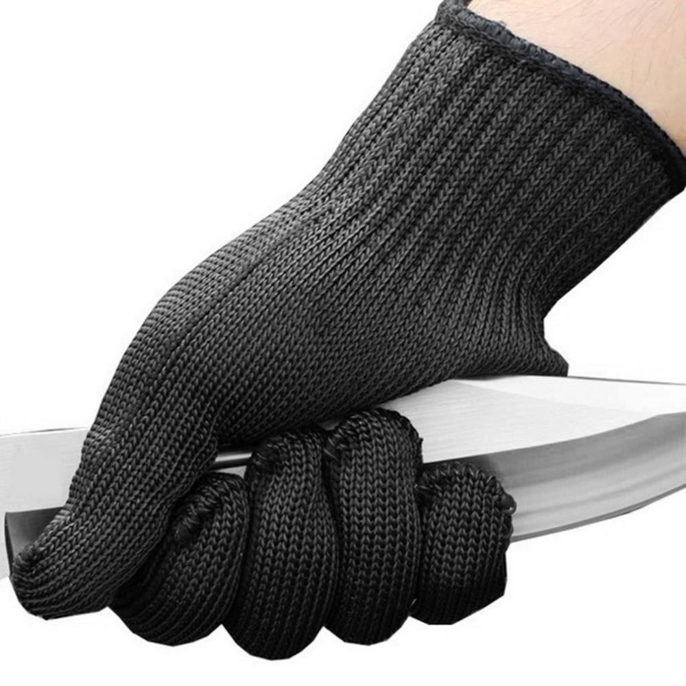 Working Safety Gloves Cut-Resistant Stainless Steel Wire Anti-Cutting Gloves Protective Hand Finger Gloves Cutting Tools