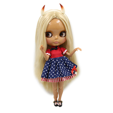 Factory Neo Blythe Doll Blonde Hair Jointed Body Miss Devil 30cm