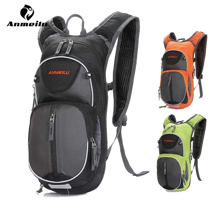 Anmeilu 15L sac à dos de vélo avec couverture anti-pluie/casque Net imperméable en Nylon Sport cyclisme sac à dos sacs de vélo respirant